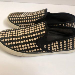 Tory Burch Shoes Sneakers 8.5M Slip-On Leather